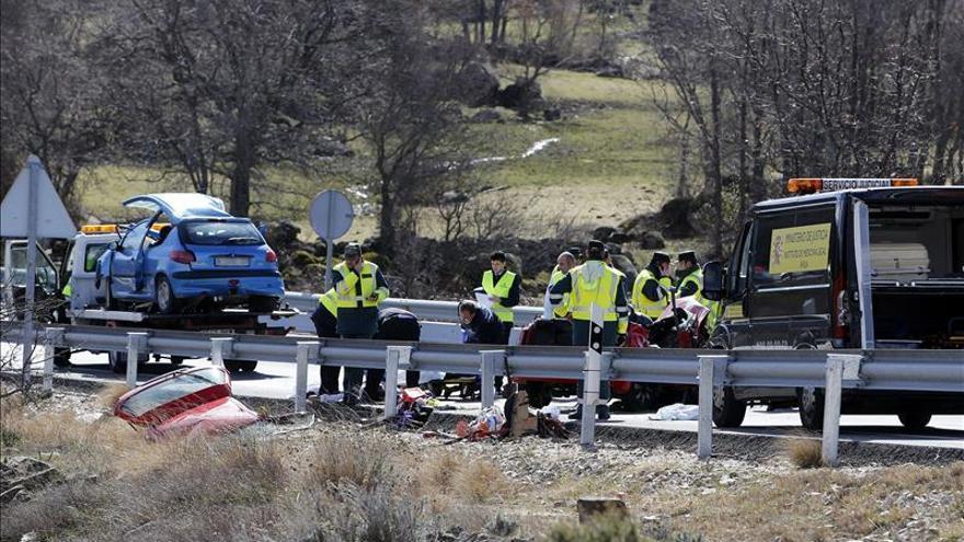 Tráfico dice que el lugar del accidente con 5 muertos no es un punto negro