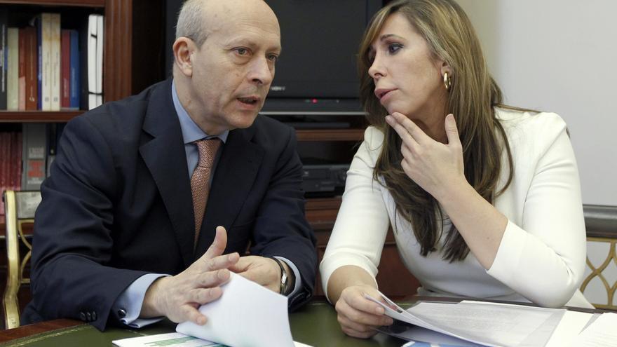 Sánchez-Camacho pide a la Generalitat que dialogue con Wert sobre la reforma