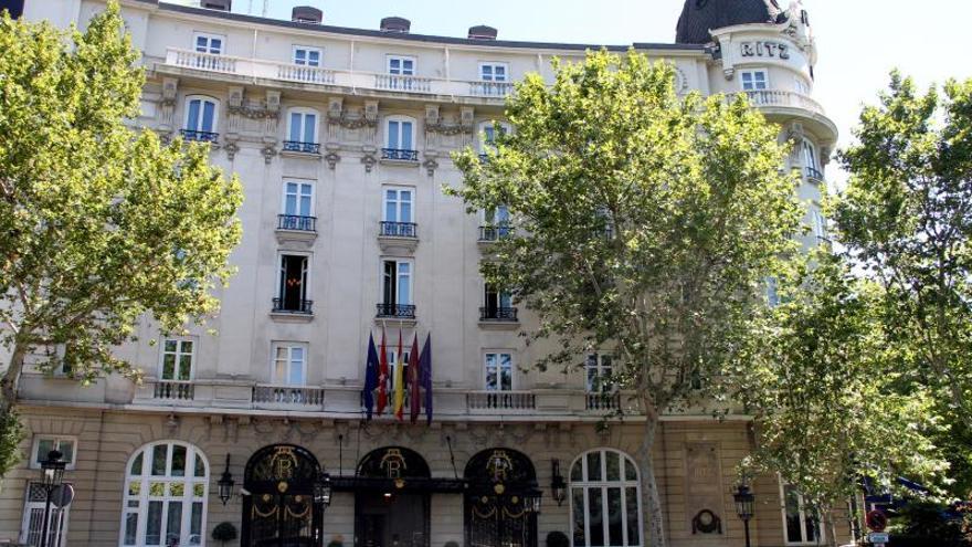 Al menos tres heridos en un derrumbe en las obras del hotel Ritz de Madrid