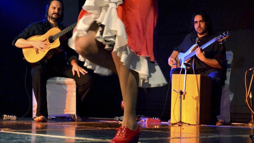 Flamenco y kathakali juntos en la India para denunciar el maltrato a la mujer