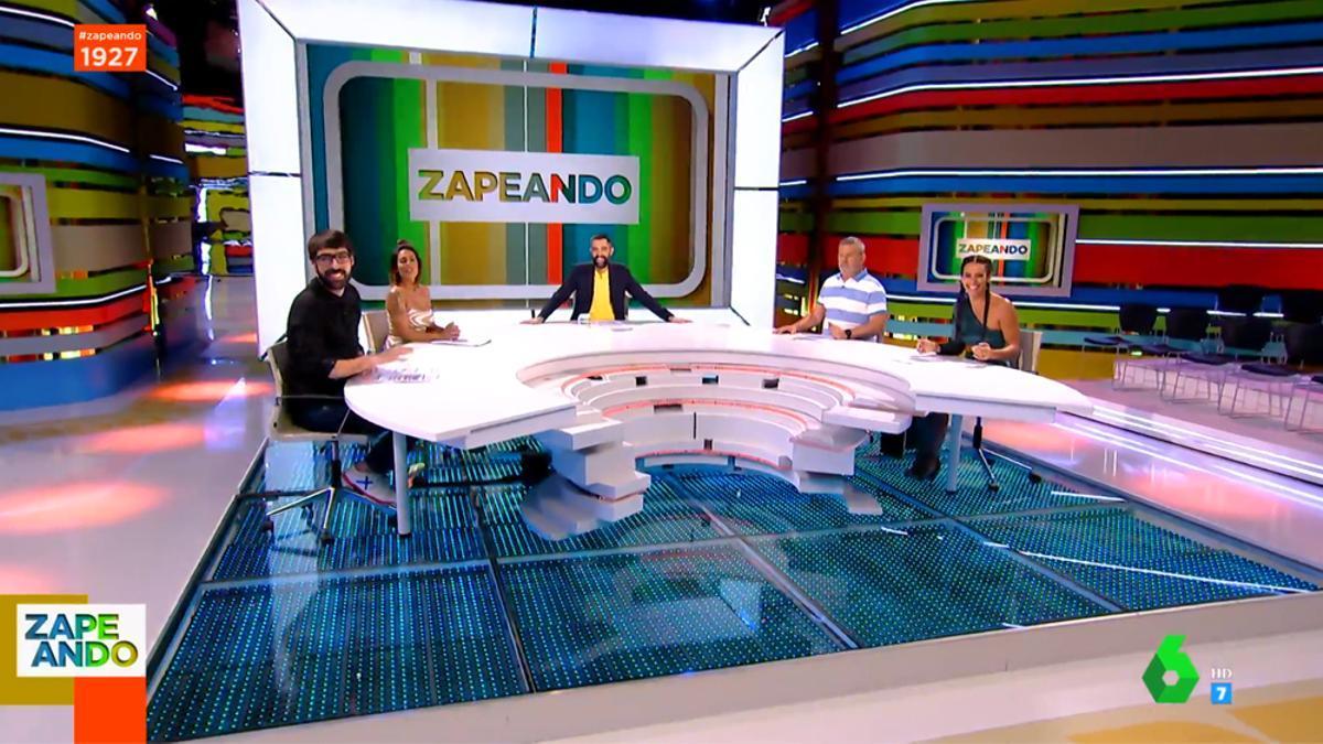 'Zapeando', en su emisión del 1 de septiembre