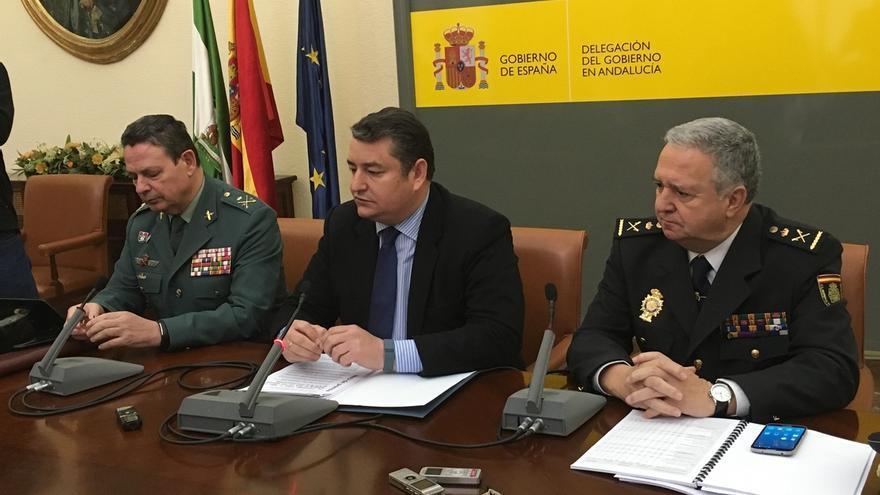 La criminalidad baja en Andalucía en 2015 con una reducción del 4,4% de las infracciones penales