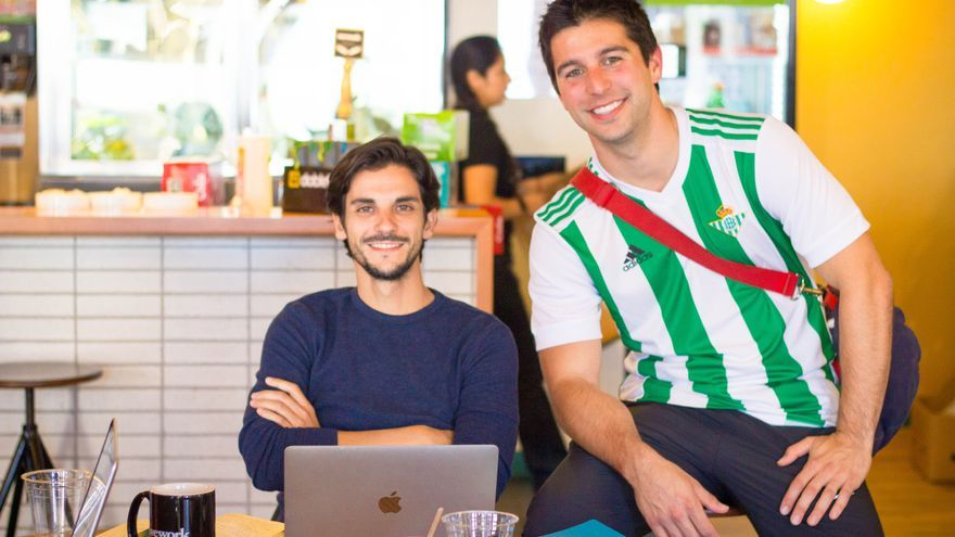 Héctor de Commite con Mario Tarabbia /Foto: CG