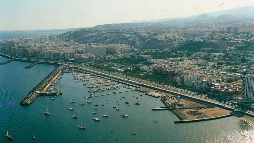 Muelle Deportivo de Las Palmas de Gran Canaria, 1970. (Fedac).