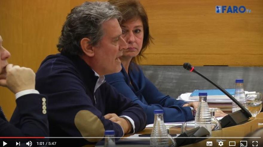 El consejero de Medio Ambiente de Ceuta, Emilio Carreira.