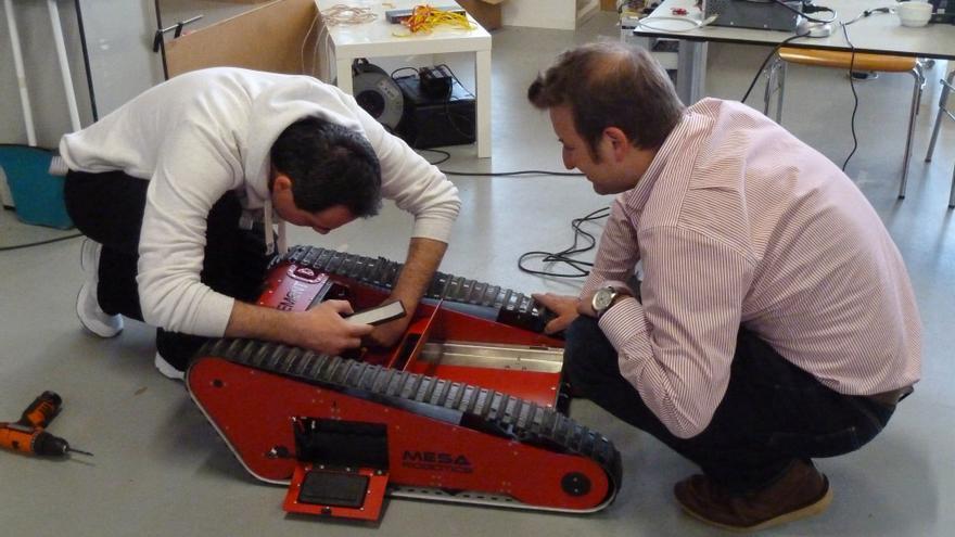Una idea española da vida a robots arqueólogos que se utilizan actualmente como instrumento en yacimientos históricos