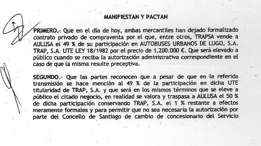 Falsificación Díaz Ferrán Raúl López