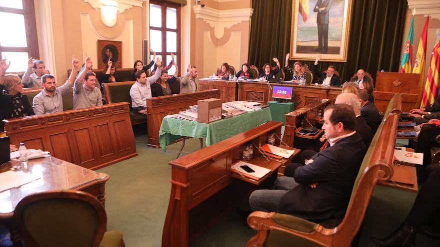 El Pleno del Ayuntamiento de Castellón aprueba el primer trámite del nuevo Plan General urbanístico.