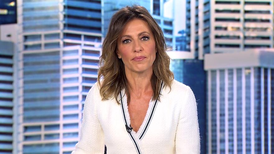Ángeles Blanco en Informativos Telecinco (4 de abril)