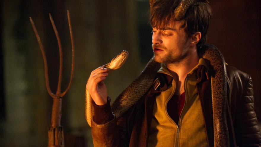 Daniel Radcliffe, hombre que susurraba a las serpientes