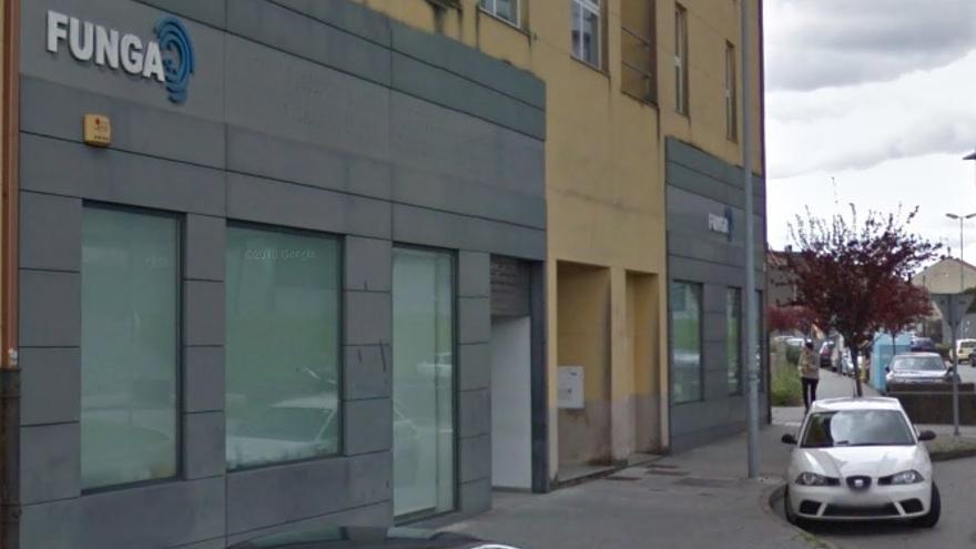 Sede de la Fundación Pública Galega para a Tutela de Persoas Adultas (Funga) en Santiago