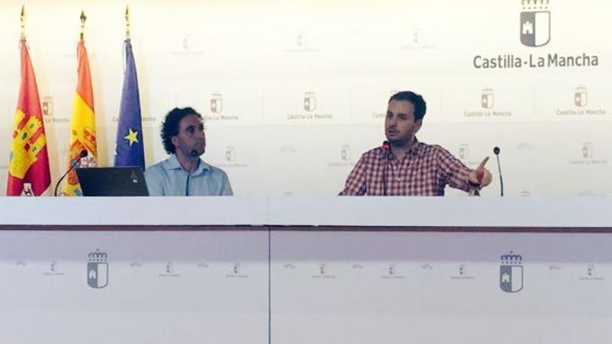 Jonathan Gómez Cantero (derecha)