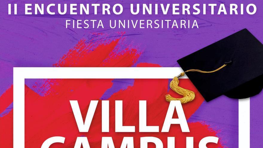 Cartel 'Villa Campus 2020'