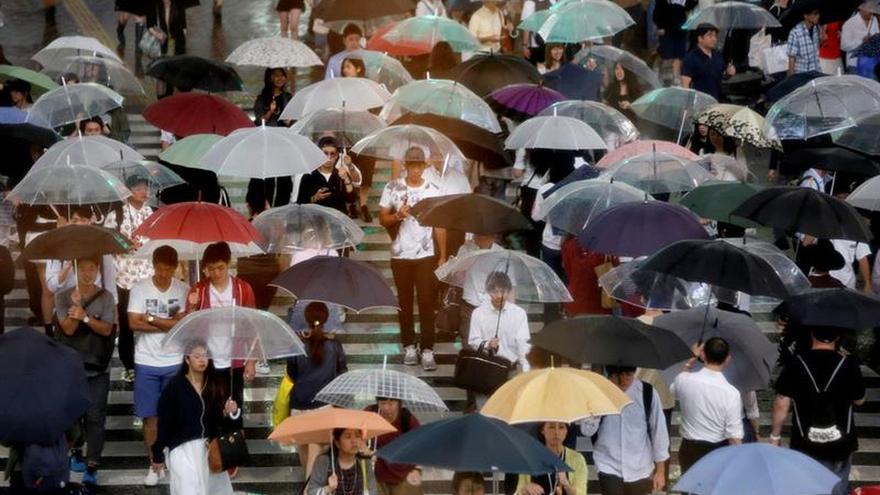 Japón espera la llegada del poderoso tifón Malakas