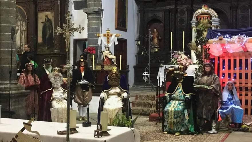 Los Reyes Magos en Villa de Mazo.