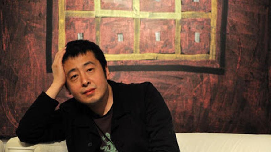 El director de cine chino Jia Zhang Ke / Foto: http://lostinmarienbad.blogspot.com.es/2011_02_01_archive.html