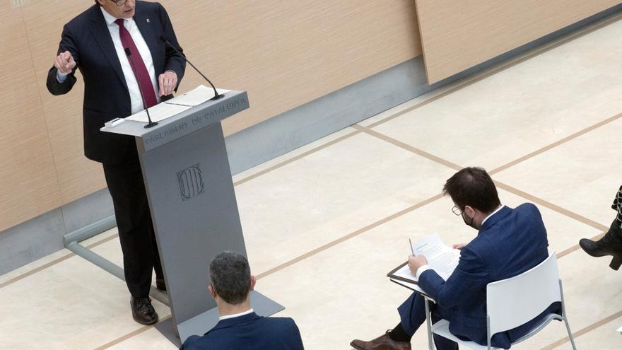 "Illa alerta de que Aragonès será un ""president vicario"" rehén de Puigdemont"