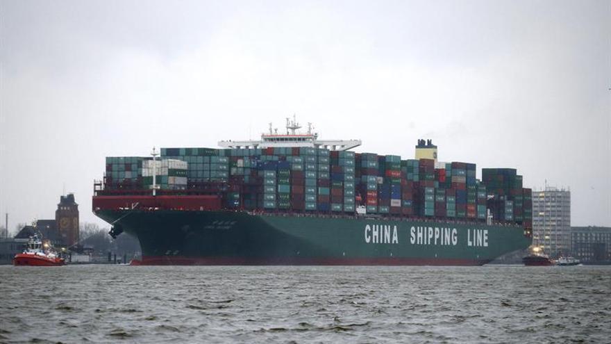 Las importaciones chinas suben un 25,7 % en el primer semestre