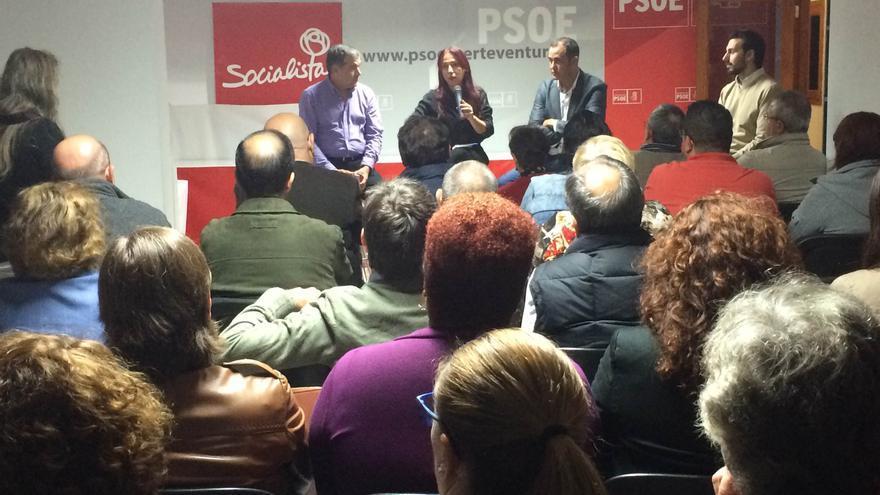 Asamblea abierta del PSC en Puerto del Rosario