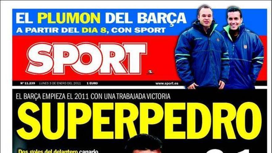 De las portadas del día (03/01/2011) #12