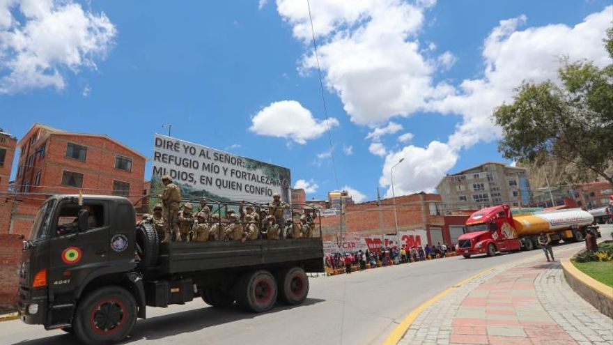 El Gobierno de Áñez da un ultimátum al Legislativo boliviano en un día violento con 3 muertos
