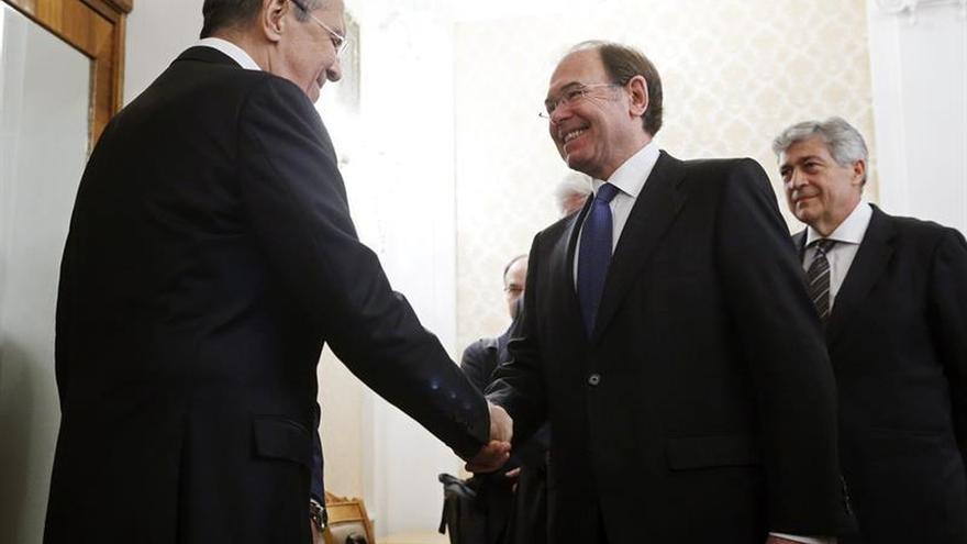 García-Escudero dice a Lavrov que España defiende el diálogo de UE con Rusia
