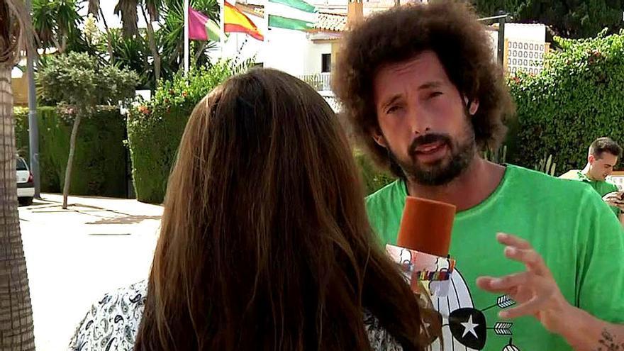 Amenazan con demandar a una testigo televisiva del ingreso de María José Campanario