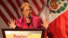 La expresidenta de Chile Michelle Bachelet / EFE