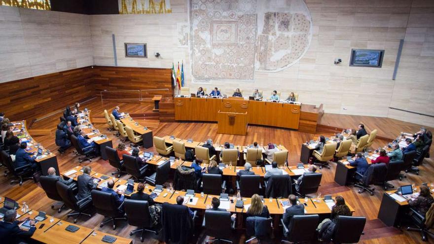 Pleno Asamblea Extremadura