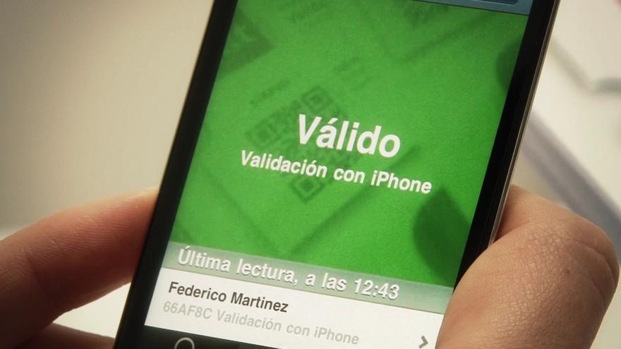 Ticketea Checkpoint, la aplicación que los promotores utilizan para validar las entradas (Foto: Ticketea en Flickr)