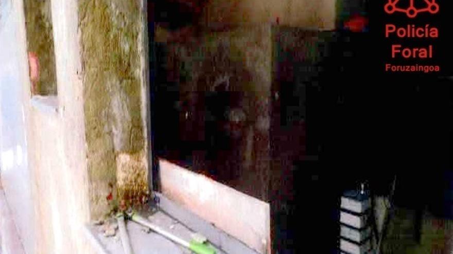 La Policía Foral detiene a tres personas por robos en una empresa de Arazuri y en viviendas de Zariquiegui