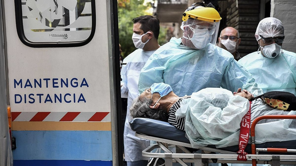 Desde el inicio de la pandemia, se contagiaron 3.539.484 personas