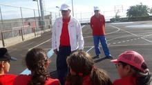 Los jóvenes insulares disfrutan de la práctica de este deporte
