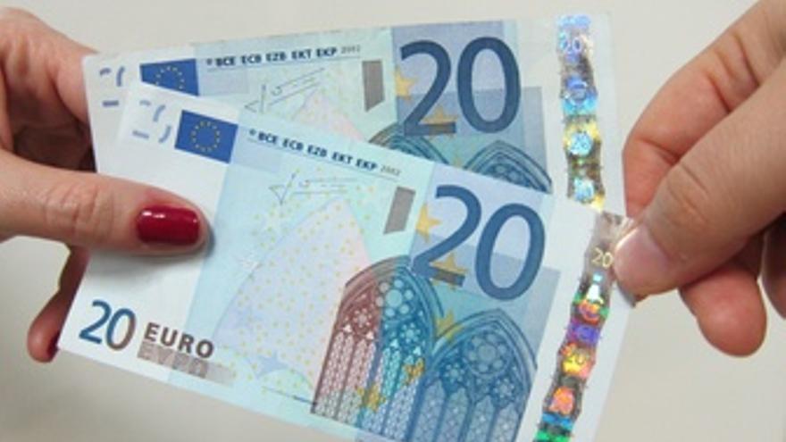 Billetes de 20 euros