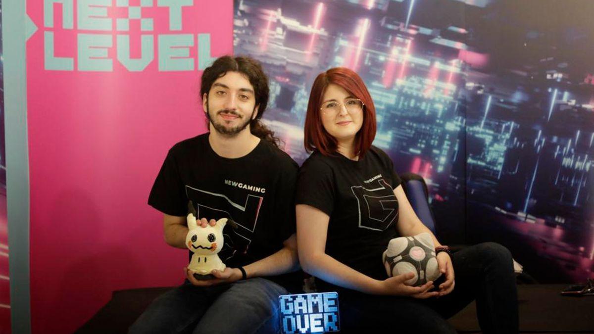 Miguel Vázquez y Olga Reus, responsables de 'New Gaming' y promotores de 'Eutopía Gaming'