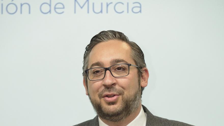 El portavoz parlamentario del Partido Popular en la Asamblea Regional de Murcia, Víctor Martínez