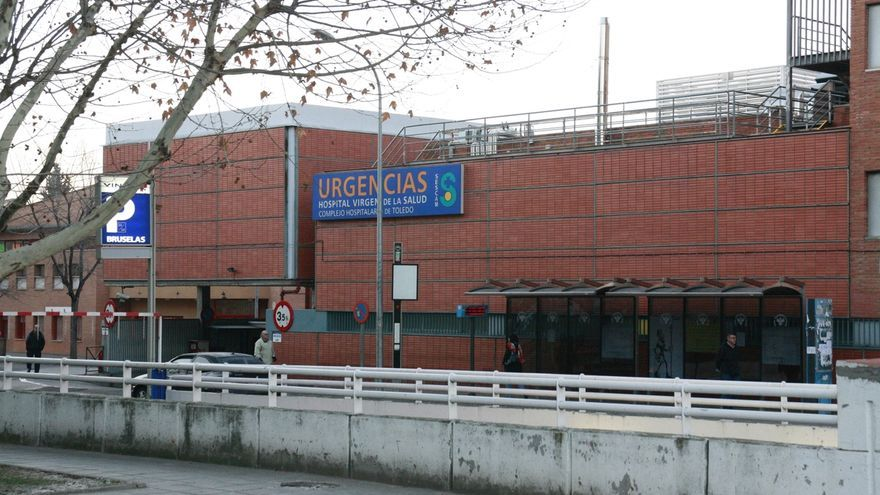 Urgencias en el Hospital Virgen de la Salud de Toledo