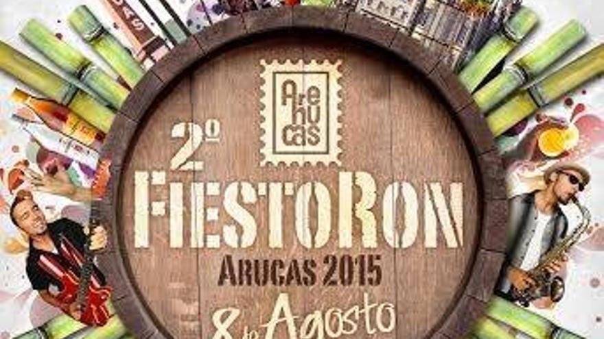 Cartel promocional del FiestoRon 2015, ahora suspendido.