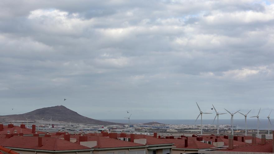 Cielos oscuros sobre el Sureste de Gran Canaria esta semana