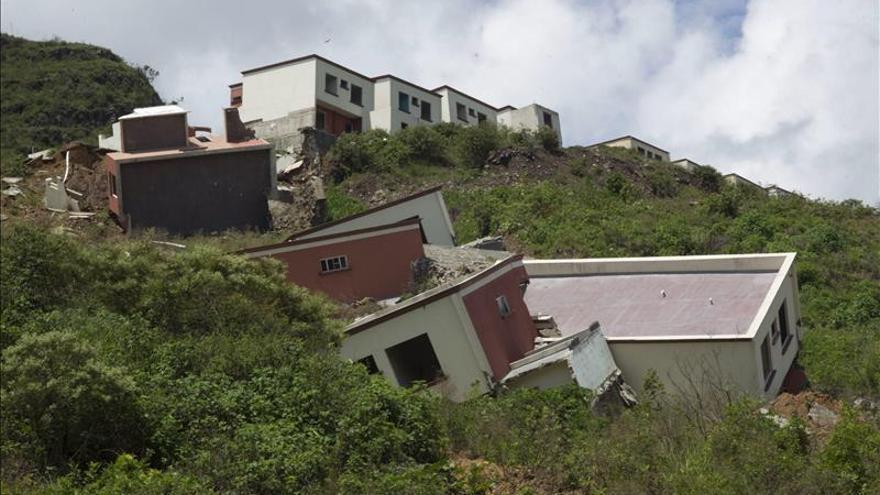 Al menos cinco muertos por el deslizamiento de tierra en el sureste de Guatemala