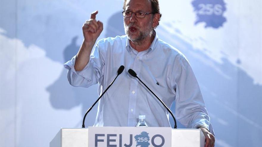 Rajoy y Rivera respaldarán a sus candidatos en el cierre de la campaña vasca