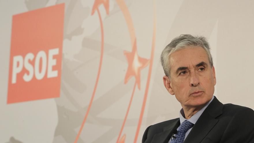 """Jáuregui dice que el problema de España """"no es de gasto, sino de ingreso"""" y apuesta por una reforma fiscal"""