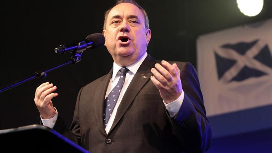 Salmond defiende el potencial de Escocia para ser independiente