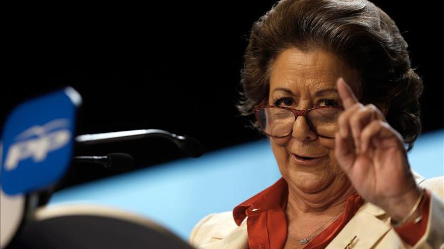 Rita Barberá, en un acto del PP.