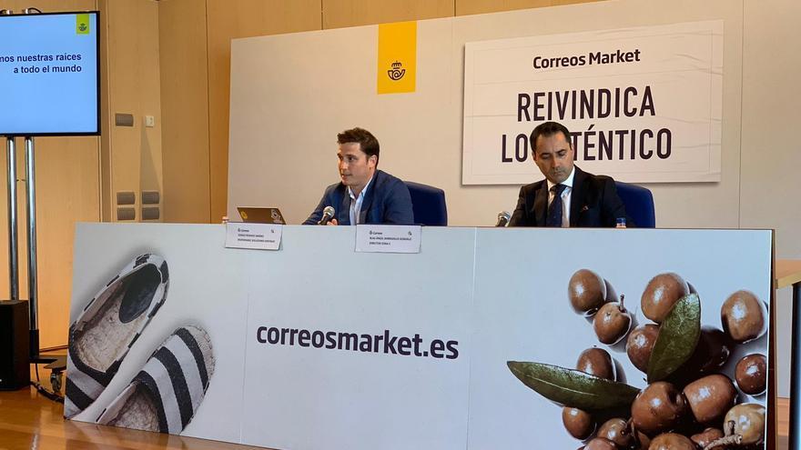 Imagen de la presentación hoy de Correos Market.