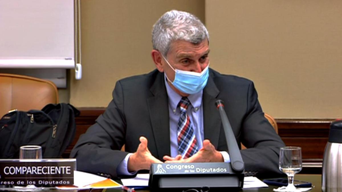 José Manuel Pérez Tornero en la Comisión Mixta de Control Parlamentario de RTVE