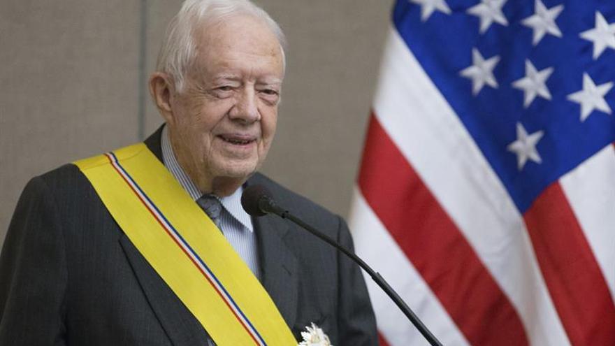 Jimmy Carter hará campaña por la candidata demócrata a la Gobernación de Georgia