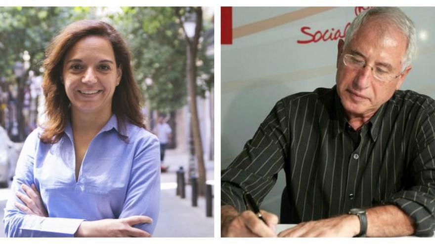 Los precandidatos que han anunciado su intención de concurrir a las primarias en Madrid: Juan Lobato, Sara Hernández, Enrique del Olmo y José Manuel Franco.