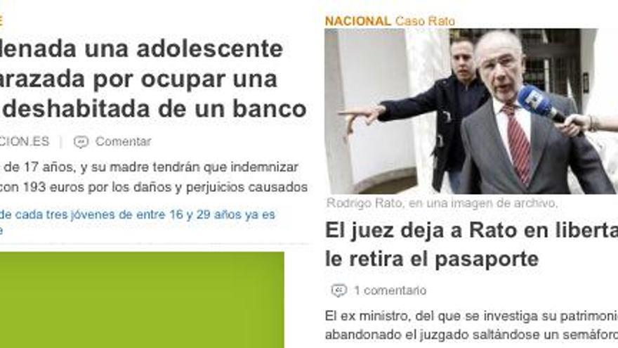 Justicia en España. / Perlas