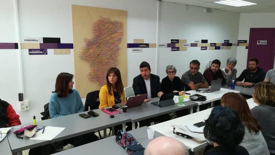 Consejo Ciudadano Autonómico de Podemos Aragón celebrado este sábado